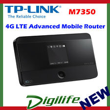TP-Link M7350 4G LTE Advanced Mobile Dual Band Modem Router SimCard WiFi battery