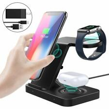 MoKo 5in1 Wireless Charger Stand for Apple Watch Series 5/4/3,Air-pods 2,iPhone