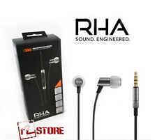 RHA S500i Ultra-Compact Noise Isolating Aluminium In-Ear Headphones microphone