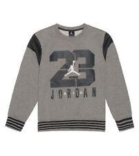 Nike Air Jordan Boys' Flight Fleece Crewneck Sweater  Size Large NWT