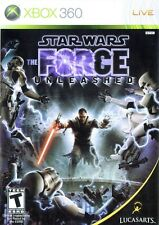 STAR WARS FORCE UNLEASHED XBOX 360 GAME EXCELLENT CONDITION