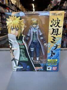 Bandai Tamashii SH Figuarts NAMIKAZE MINATO Naruto Shippuden Action Figure