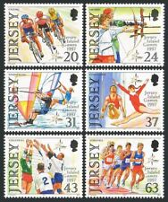Jersey 800-805,MNH.Michel 787-792. 1997 Jersey Island Games.Cycling,Archery,