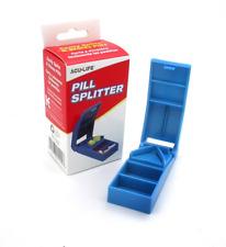 Acu-Life Pill Splitter Tablet Cutter Stainless Steel Blade