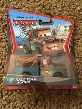 Disney Pixar Cars 2 Race Team Mater Tow Truck Die-Cast Mattel New