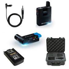 Sennheiser AVX Lavalier Mic Set (ME2 Lavalier) with SKB Case and Battery Pack