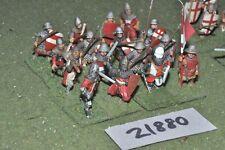 25 mm Medievale/inglese-smontata Men at arms 16 Fichi FANTERIA-INF (21880)