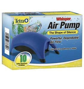 Tetra Whisper Easy to Use Air Pump for Aquariums Up to 10-Gallons