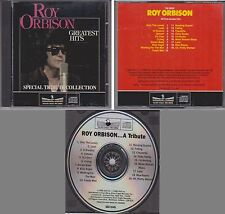 ROY ORBISON Greatest Hits Special Tribute Collection 1986 Silver Eagle CANADA CD