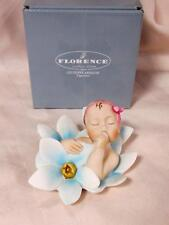 G. Armani #7556C Baby Girl Forget Me Not Brand Nib Newborn Girl Full Color F/Sh