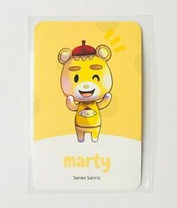 Amiibo NFC Karte Animal Crossing Marty | Sanrio