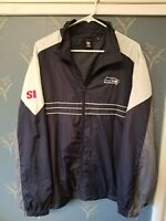 NFL SEATTLE SEAHAWKS SI Sports Illustrated Wind Breaker Jacket XL Extra Large