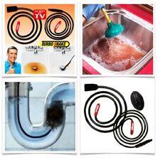 Turbo Sink Snake Abflussentstopfer Rohrreinigung Abflussreiniger Rohrreiniger