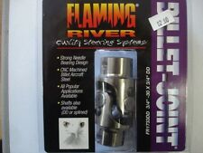 "Flaming River 3/4""-30 X 3/4"" DD Universal Billet Steering U- Joint"