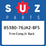 85380-76JA2-BFS Suzuki Trim comp,fr back 8538076JA2BFS, New Genuine OEM Part