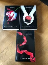 Lot de 3 livres de  Stephenie Meyer Hésitation-Tentation- Fascination
