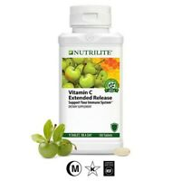 Amway Nutrilite Vitamin C Extended Release 180 Tablets - Free Shipping.