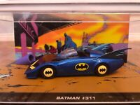 Batman Batmobile #311 Collector Model 1:43 Die-cast Metal Car Display Case