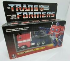 Transformers Optimus Prime G1 Reissue Walmart Exclusive Autobots SEALED New
