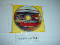BURNOUT REVENGE racing game only for Original Microsoft XBOX -Platinum Hits