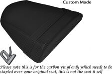 CARBON FIBRE VINYL CUSTOM FITS RIEJU RS2 125 REAR SEAT COVER ONLY