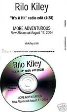 RILO KILEY It's A Hit RARE EDIT TST PROMO DJ CD single