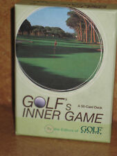 Golf's Inner Game Cards Boxed Golf Magazine Insight