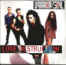 WARRIOR SOUL Love Destruction PROMO DJ CD Single SEALED KILLING JOKE Drummer
