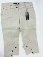 Just Cavalli Damen Hose capri Jeans Pantalon Neu 30 31 Gr 40 Uvp 315€