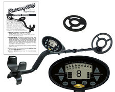 """Discovery 2200 Bounty Hunter Metal Detector with 8"""" Inch Coil + Free Coil Cover!"""