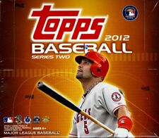 2012 Topps Baseball Series 2 Jumbo Box - 10 Packs - 50 Cards