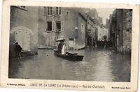 CPA Crue de la Loire-Rue des Charretiers (265919)