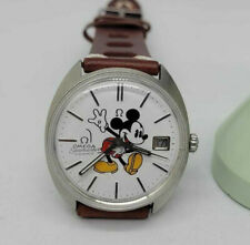 VINTAGE OMEGA SEAMASTER COSMIC MICKEY MOUSE WHITE DIAL AUTOMATIC MAN'S WATCH