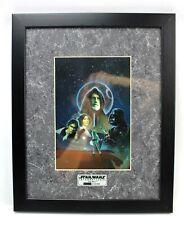 Star Wars International ChromArt Framed Print +COA Collectors Ltd Ed 1996 ZanArt