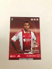 Spelerskaart Topspieler Ajax 11-12 Gregory van der Wiel