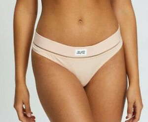 Les Girls Les Boys Pink Ladder Detail Thong Size  Med RRP £20
