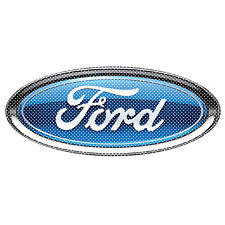 """Ford Logo 12"""" 3M Perforated Unobstructed View Window Graphic Decorative Decal"""