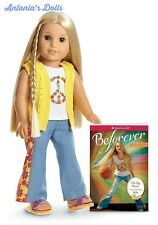 American Girl - Beforever Julie Doll and Paperback Book - NEW GLOBAL SHIPPING