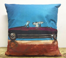 1x Simple Painting Car Owl Home Decor Sofa Cushion Car Covers Pillow Case 18x18