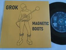 "NWOBHM 7"" - GROK - MAGNETIC BOOTS / METAL SISTER - UK SF RECORDS EX"