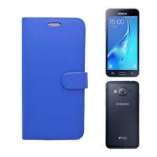 Fundas con tapa Para Samsung Galaxy J5 color principal azul para teléfonos móviles y PDAs