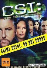 CSI: Crime Scene Investigation : Series 4 : Part 2 (DVD, 2006, 3-Disc Set)