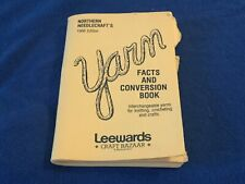 Yarn Facts And Conversion Book Northern Needlecraft's 1986 Edition Leewards