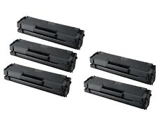5-Pk/Pack MLT-D101S Black Toner Cartridge Samsung 101 ML-2165W SCX-3405W SF760P