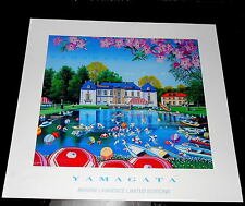 """Hiro Yamagata """"Perrier"""" Martin Lawrence Galleries Poster"""