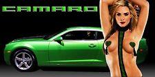 Chevrolet Camaro SS 2010-13 Garage Shop Banner Sign Chic  CUSTOMIZE ME!