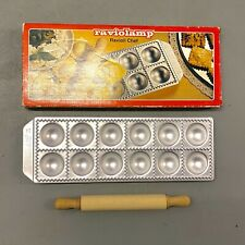 Vintage Raviolamp Ravioli Chef Pasta Making Mould Complete Made in Italy