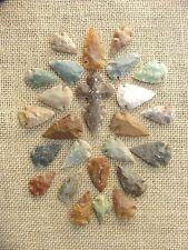 24 pc bulk arrowheads 1 stone cross spearhead  reproduction  collection kx912