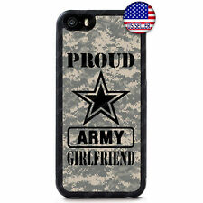Proud US Army Girlfriend Camo Slim Case Cover For iPhone Xs Max XR X 8 7 6 Plus