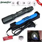4000LM XM-L T6 LED Tactical Zoomable Flashlight Torch Light Lamp 18650 Charger